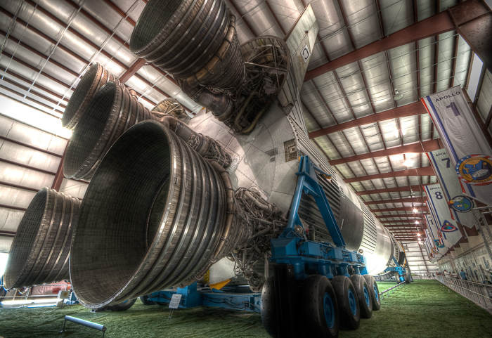 Saturn V, Houston, Texas