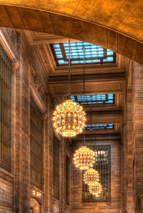 Lighting Globes, Grand Central Station, NY