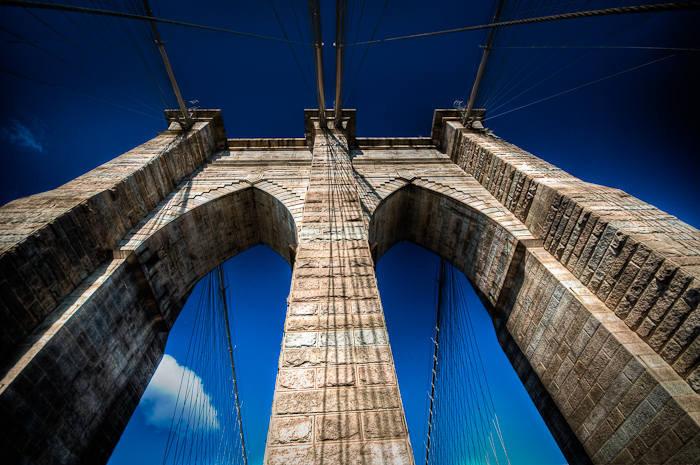 Brooklyn Bridge Arches, New York