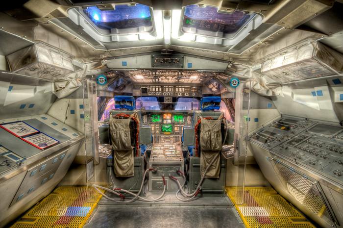 Space Shuttle Cockpit, Houston