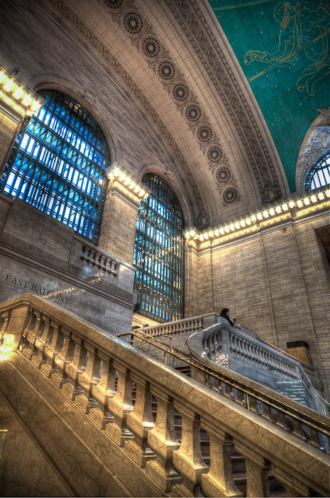 Grand Central Stairway, New York City