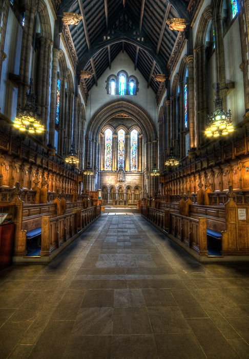 Glasgow University Chapel Dave Wilson Photography
