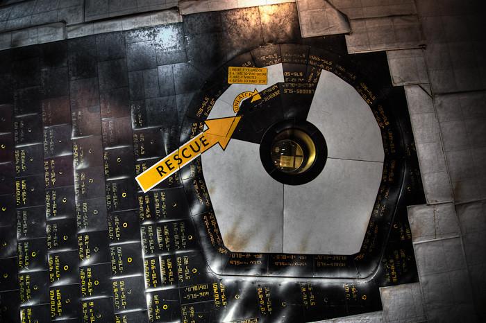 Orbiter Door, Space Center Houston