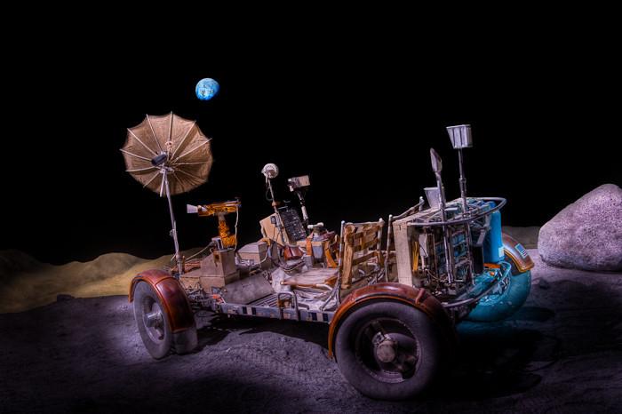 Lunar Rover, Space Center Houston