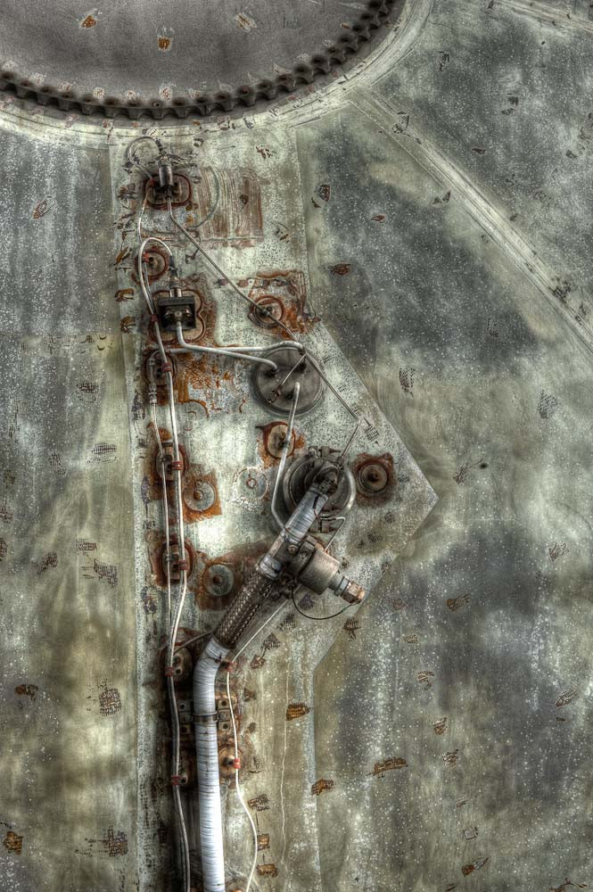 Pipework, Second Stage Tank, Saturn V