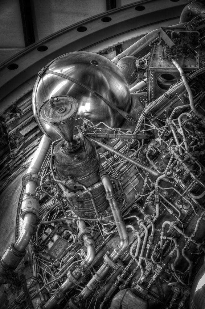 Second Stage Pipework, Saturn V