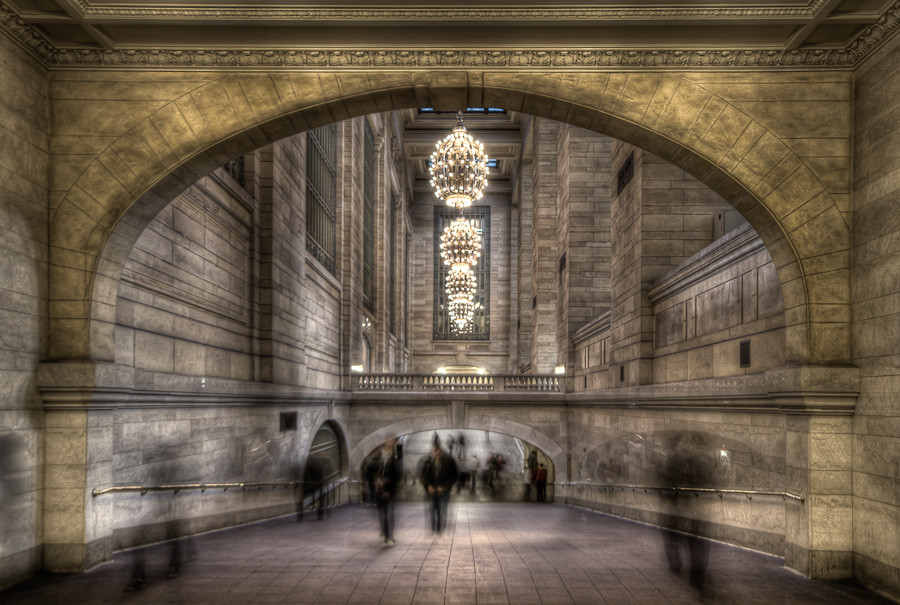 Ghostly Commuters, New York City