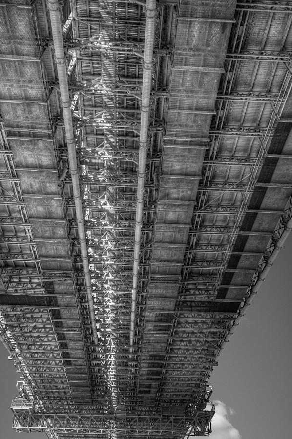 Brooklyn Bridge: Underside