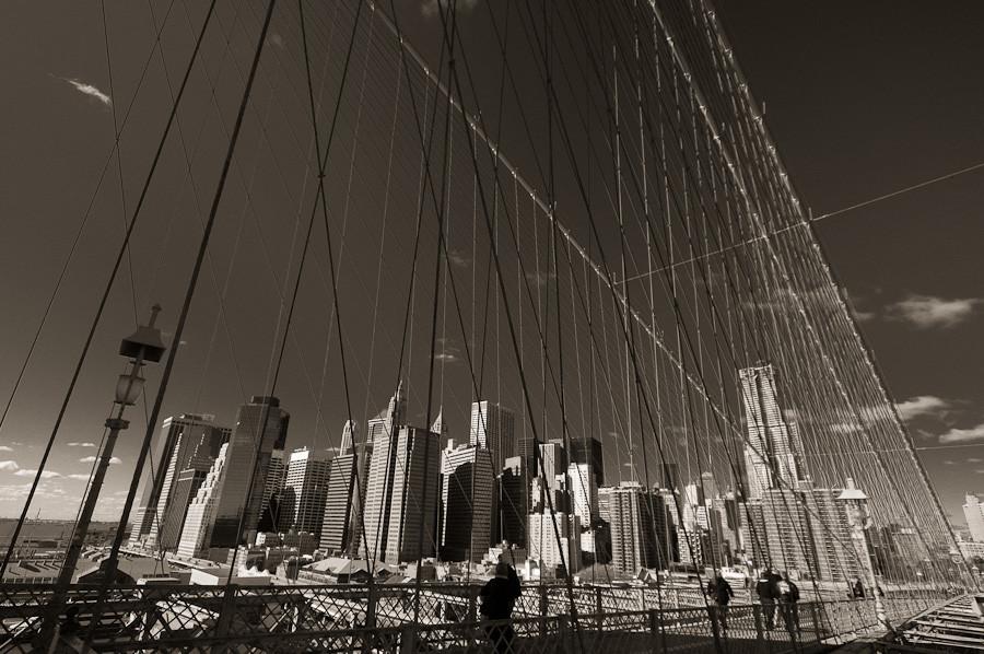 Brooklyn Bridge: Downtown