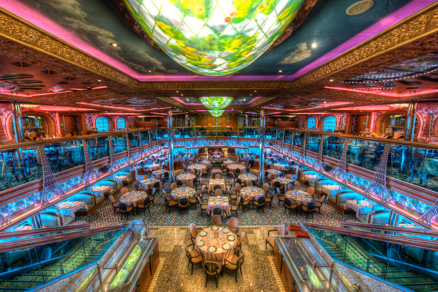 Carnival Victory Dining Room Layout