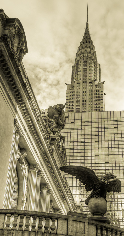 Chrysler Building & Grand Central Terminal