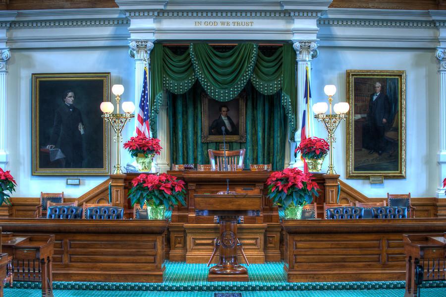 Texas State Capitol, Senate Chamber
