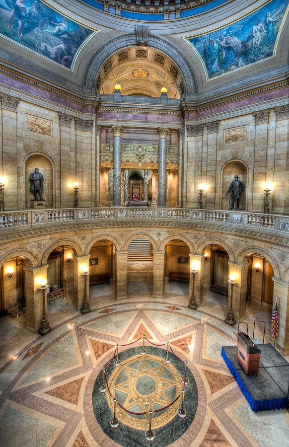 Minnesota State Capitol Rotunda, St. Paul