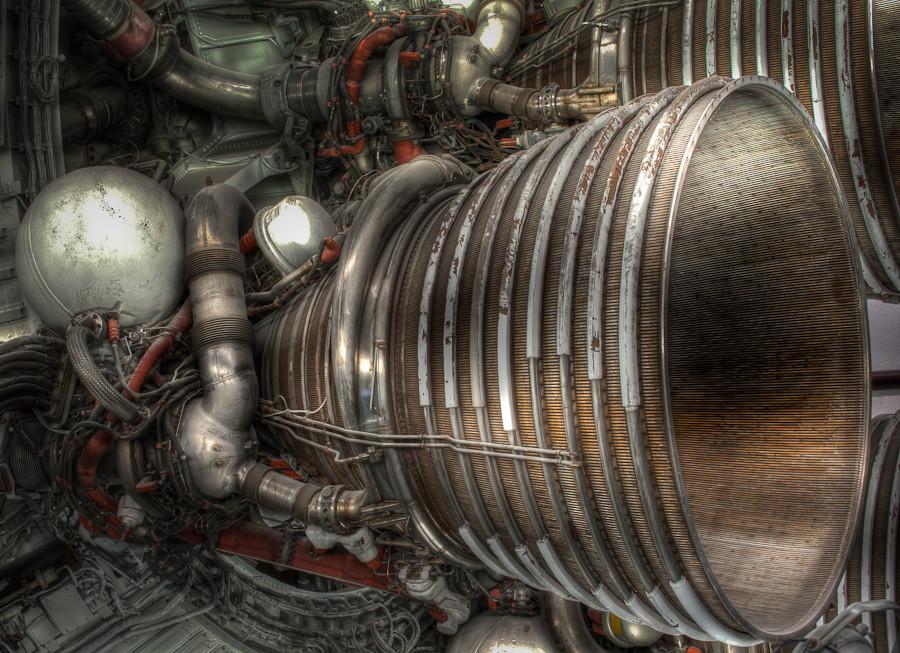 Second Stage Engine, Saturn V
