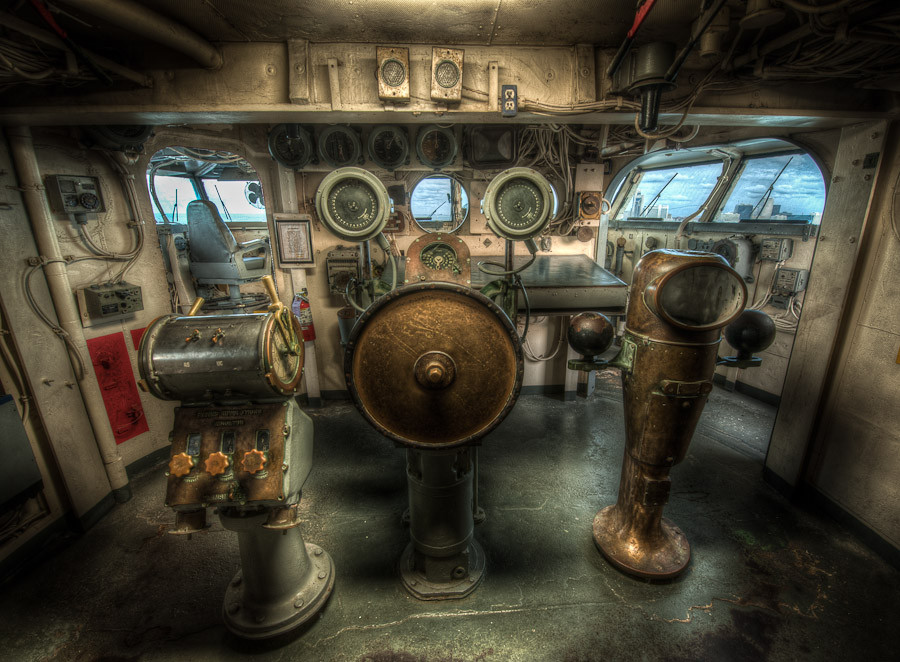Pilot House, USS Lexington