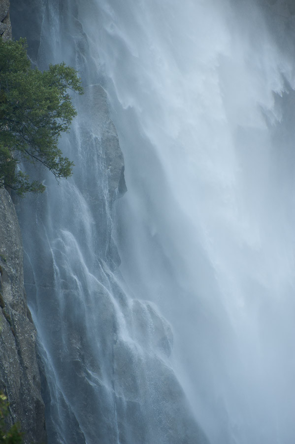 Cascading Water, Yosemite National Park