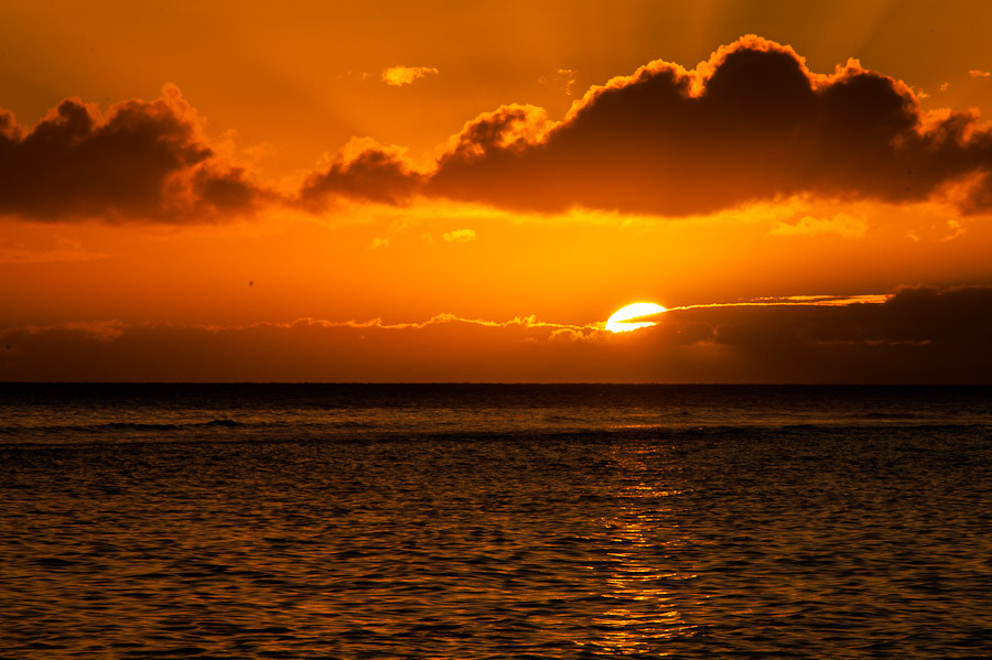 Sunset from Lahaina, Maui