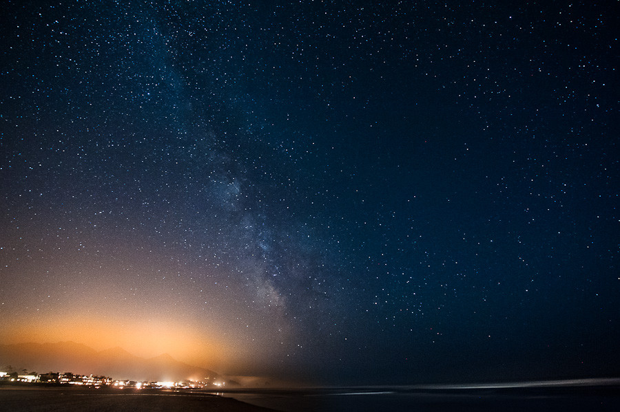 Milky Way over Cannon Beach, OR