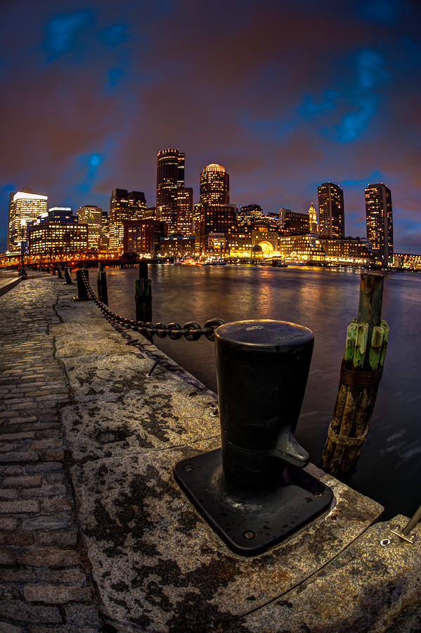 Boston Skyline from Fan Pier