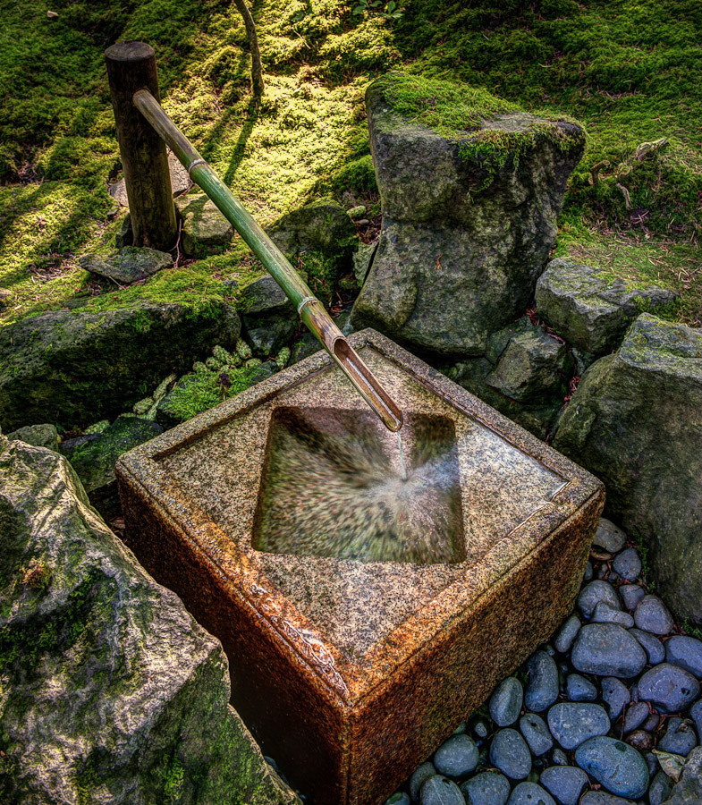 Fountain portland japanese garden dave wilson photography for Garden fountains portland oregon