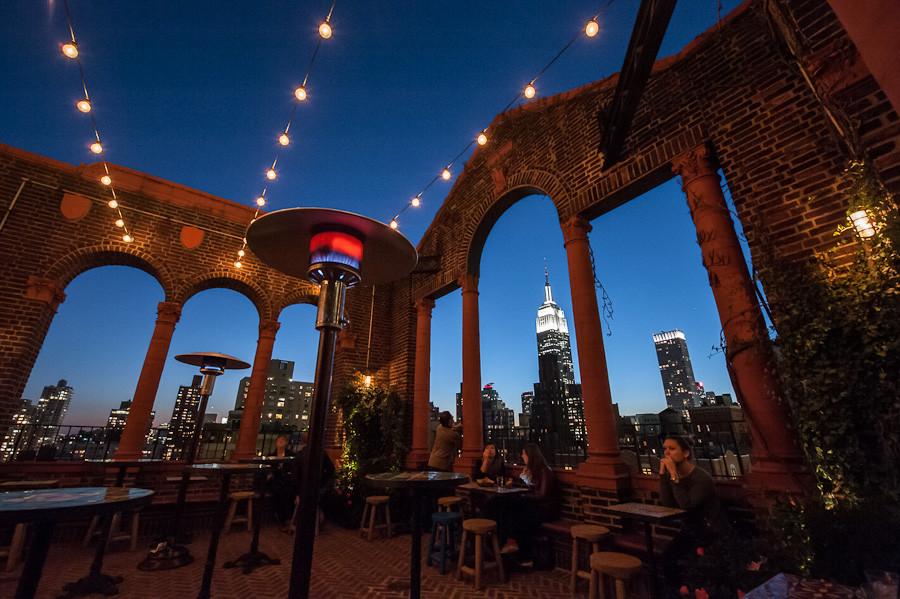 Pod 39 rooftop bar dave wilson photography Nyc rooftop bars