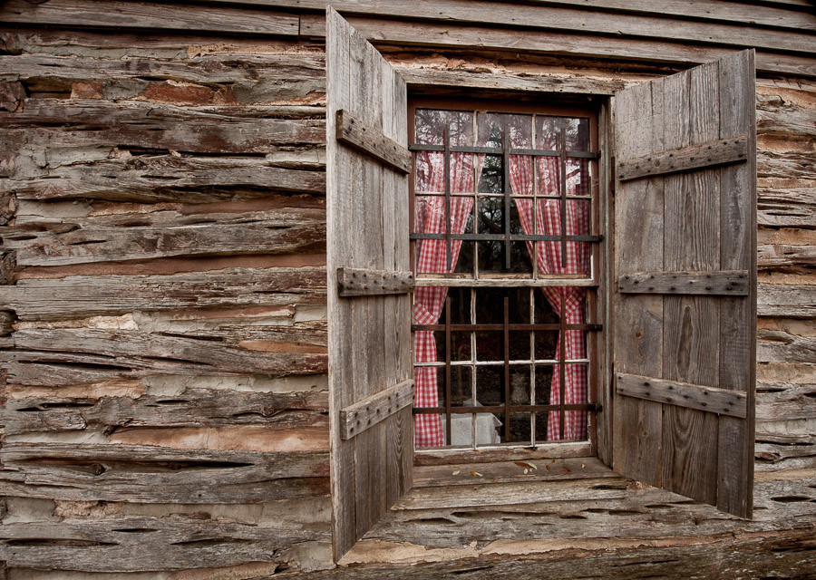 Swedish Log Cabin Window Dave Wilson Photography