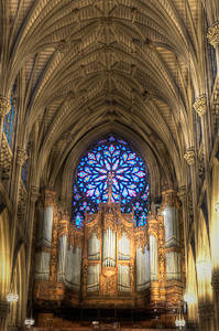 Organ Gallery, St. Patrick's Cathedral, New York