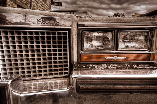 Crusty Cadillac, Johnson City, Texas