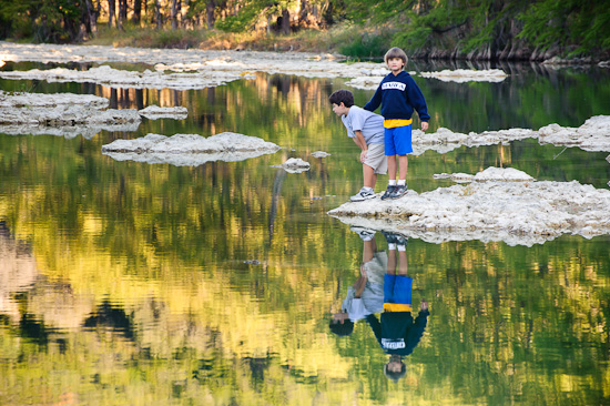Pedernales River Reflections