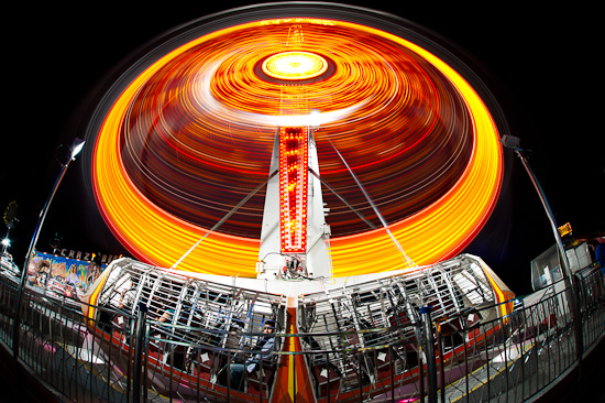 Rotating Ride, Austin Rodeo Carnival