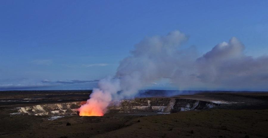 Glowing Crater, Kilauea